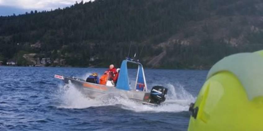 Okanagan Lake Rescue 2016